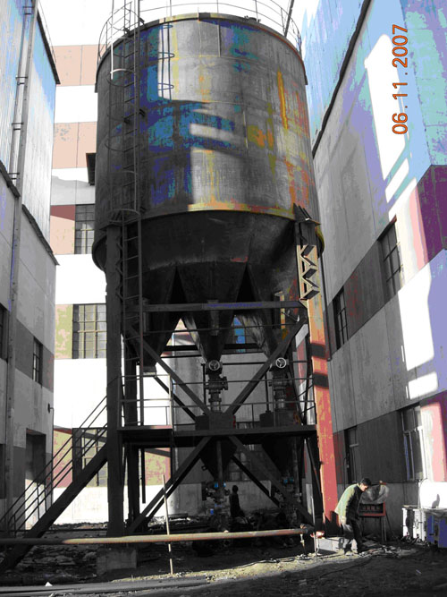 Injection Desulfurization of 3×75t/h CFB boiler, Heihe Thermal Power ...